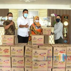 Bantuan Mengalir, Wali Kota Kediri Ajak Masyarakat Saling Gotong Royong saat Pandemi