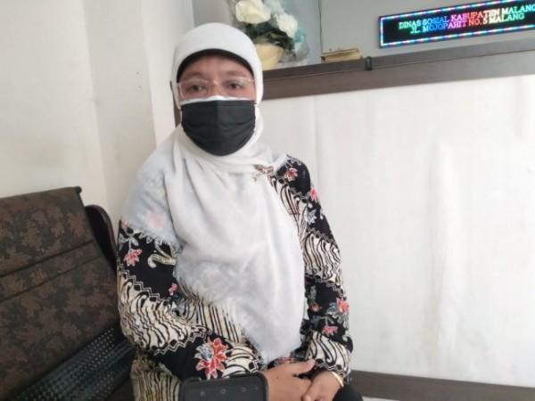 Kepala Bidang (Kabid) Perlindungan dan Jaminan Sosial (Linjamsos) Dinsos Kabupaten Malang, Titin Koentiastutik (Foto: Istimewa).