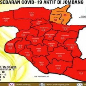 Kasus Covid-19 di Jombang Ngegas, Sehari 308 Kasus Baru