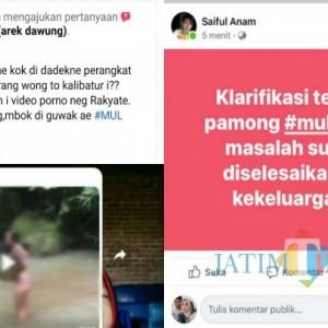 Viral Video Seronok Dikirim ke Warga, Perangkat Desa di Tulungagung Berikan Klarifikasi