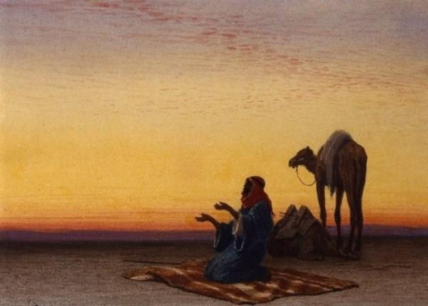 Ilustrasi sahabat nabi yang memiliki kesabaran hingga membuat malaikat kagum. (okezone)