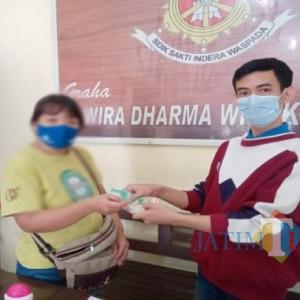 Wanita Asal Malang Curi Celana Dalam di Toko Modern Tulungagung