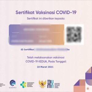 Belum Dapat SMS Link Download Sertifikat Vaksin?, Tak Usah Bingung, Coba Cara Ini