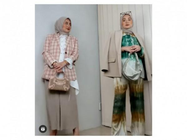 Cara styling busana untuk tampilan elegan. (Foto: Instagram @nabilahatifa).