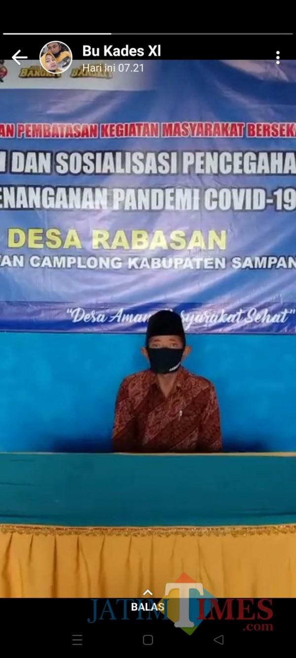 Foto Kepala Desa Rabasan (Sidik) Kecamatan Camplong