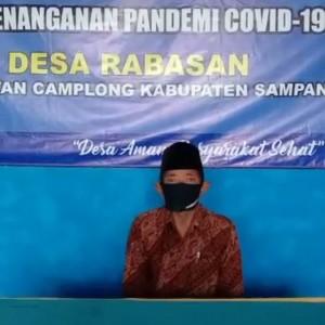 Jelang Hari Raya Idul Adha Kades Rabasan Imbau Warganya Tetap Patuhi Prokes Covid-19