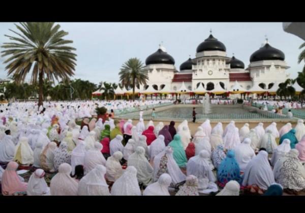 Ilustrasi Salat Hari Raya Idul Adha. (Foto: source google).
