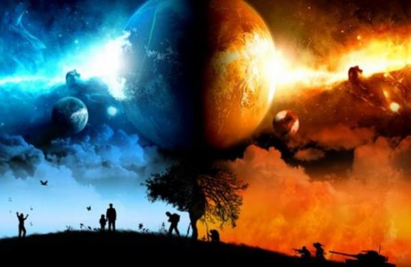 Ilustrasi surga dan neraka (istimewa)