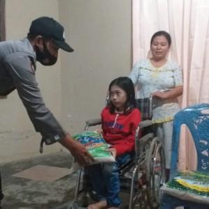 PPKM Darurat, Polres Blitar Kota Salurkan Bansos untuk Warga di 2 Kecamatan