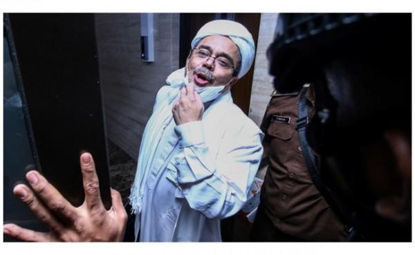 Habib Rizieq (Foto: detikNews)