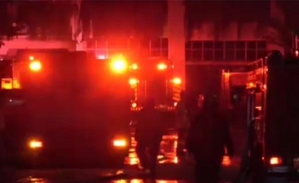 Kebakaran Kantor BPOM (Foto: Indeks news)