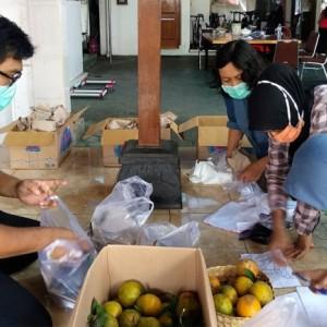 Bantu Warga Isoman, PKK Kota Kediri Dirikan Dapur Umum di Rumdin Wali Kota