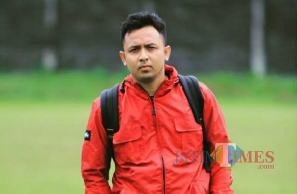 Media Officer Persik Kediri Anwar Bhahar Bassalamah (Eko Arif S/ Jatimtimes)