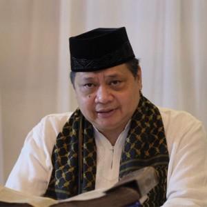 Menko Airlangga Ajak Ulama, Habib hingga Kiai Sosialisasikan Protokol Kesehatan saat Iduladha