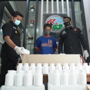 Jual Obat Terlarang, Kurir Ekspedisi Ditangkap Satnarkoba Polres Kediri