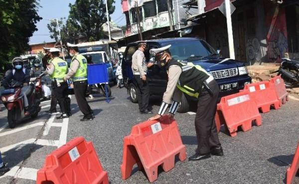 PPKM Darurat (Foto: CNN Indonesia)