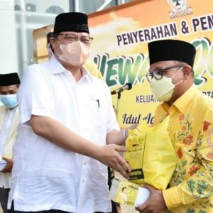 Golkar Bagikan Paket Sembako & Daging Kurban terhadap Masyarakat di Seluruh Indonesia