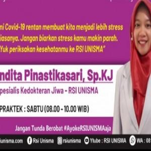 Dokter RSI Unisma Beber Tanda Stres saat Pandemi dan Langkah Menanggulanginya
