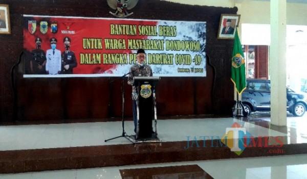 Bupati Bondowoso Salwa Arifin (Foto: Abror Rosi/ JatimTimes)