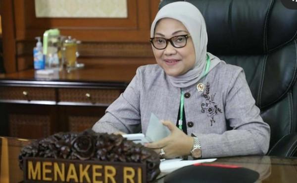 Menteri Ketenagakerjaan Ida Fauziayah (Foto: Detik)
