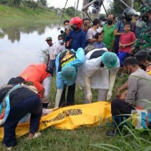 Mayat Mengapung di Kali Ngrowo Tulungagung, Ditemukan Pencari Cacing