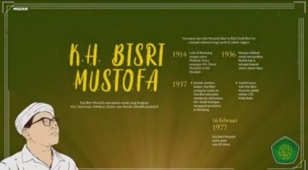 Biografi KH Bisri Mustofa (Foto: Ist)