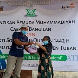 Pemuda Muhammadiyah Lantik Pengurus PCPM dan Bagikan Hewan Kurban di Bangilan