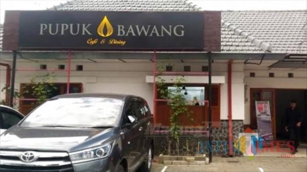 Salah satu cafe di Kota Batu.
