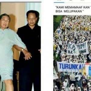 Peringati 20 Tahun Lengsernya Gus Dur, Netizen Lumajang Unggah Foto Gus Dur Keluar Istana
