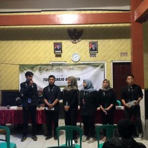 Mahasiswa Ilmu Komunikasi Universitas Muhammadiyah Malang Sosialisasi Pengembangan Potensi Wisata di Kampung Budaya Tulungrejo, Pujon Kidul