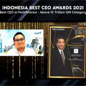 Margono Tanuwijaya Sabet Indonesia CEO Award 2021