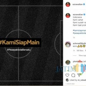 Viral, Para Pemain Liga Indonesia Gaungkan Tagar Kami Siap Main