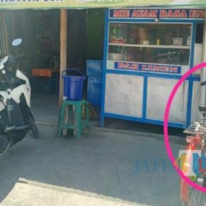 Motor Penjual Mie Ayam di Tulungagung ini Tiba-Tiba Jadi Sepeda Ontel, Begini Faktanya