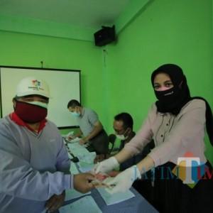 Dinsos-P3AP2KB Kota Malang Salurkan Bansos PPKM Level 4 , Ada 22.861 KPM