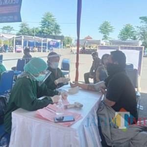 Kejar Herd Immunity, Pemkab Malang dan Polres Malang Gelar Vaksinasi Massal