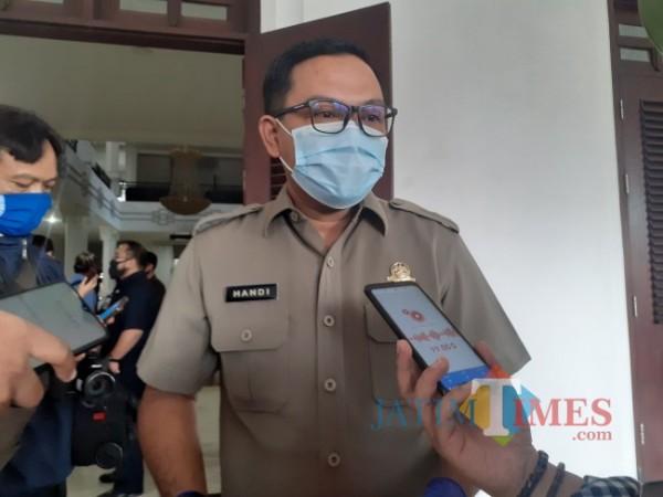Kepala Bapenda Kota Malang, Handi Priyanto. (Arifina Cahyanti Firdausi/MalangTIMES).