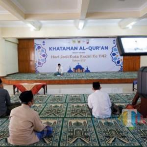 Sambut HUT Ke-1142 Kota Kediri, Pemkot Awali dengan Khataman Quran