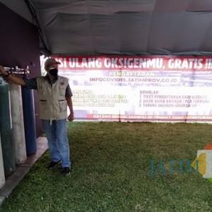 Pasti Sukses, Ini Syarat isi Ulang Oksigen Gratis di Bakorwil Malang