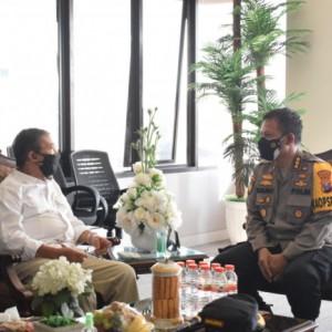 Anggota DPR RI Bambang DH Ajak Polresta dan Kejari Perangi Covid-19 Bersama