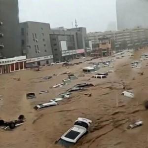 Tewaskan 25 Orang, Banjir Besar di China Dipicu Jebolnya Tanggul Sungai