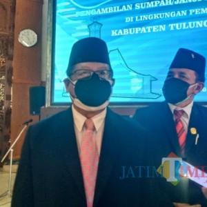 Banyak Pegawai Pensiun dan Meninggal, Bupati Maryoto Lantik Ratusan Pejabat Fungsional