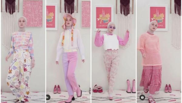 Inspirasi busana serba pink untuk style colorful ala Tantri Namirah. (Foto: Instagram @tantrinamirah).