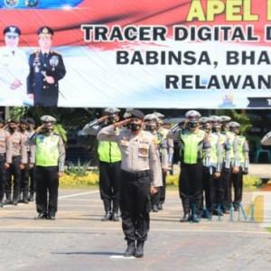 Percepat Tracing Suspect Covid-19: Bhabinkamtibmas-Babinsa Jadi Tim Tracer Digital dan Lapangan