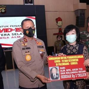 Heboh Keluarga Akidi Tio Sumbang Rp 2 Triliun untuk Covid-19, Warganet Teriak Jangan Ada Kasus SARA Lagi