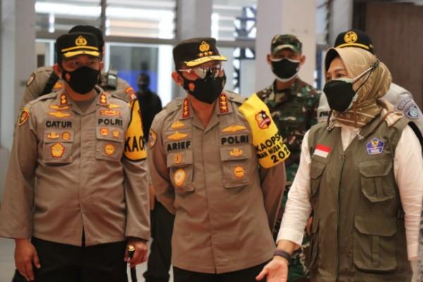 Kepala Badan Pemeliharaan Keamanan (Kabaharkam) Polri Komjen Arief Sulistyanto saat di YPPII Kota Batu, Selasa (27/7/2021). (Foto: istimewa)