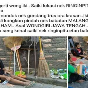 Bocah Linglung Ditemukan di Tulungagung, Ngakunya Lari dari Pondok Pesantren