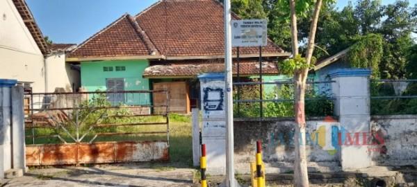 Aset milik Pemerintah Kabupaten Madiun yang ada di Jalan Ahmad Yani yang akan disewakan. (Foto: Dodik Eko P/ JatimTIMES)