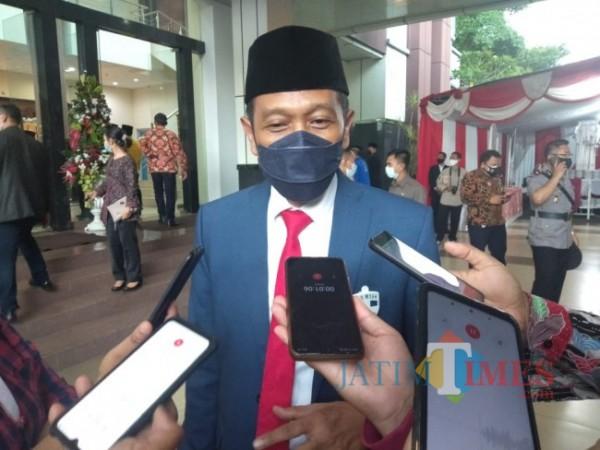 Sekda Kabupaten Malang Wahyu Hidayat (foto: dok JatimTIMES)