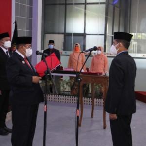 Sah! Priyo Suhartono Dilantik sebagai Sekda Kota Blitar
