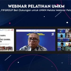 Lagi, FIFGROUP Beri Dukungan untuk UMKM melalui Webinar Pelatihan